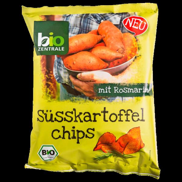 Bio Zentrale Süßkartoffelchips mit Rosmarin 75g