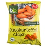 Biozentrale Bio Süßkartoffelchips mit Rosmarin 75g
