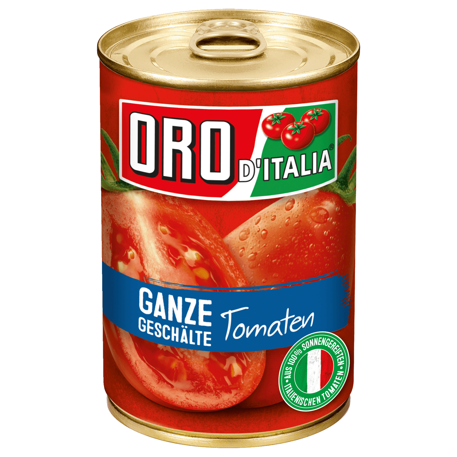 Oro di Italia Ganze Tomaten in Saft 425ml