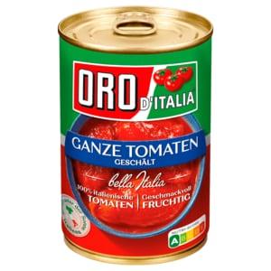 Oro di Italia Ganze Tomaten in Saft 425ml