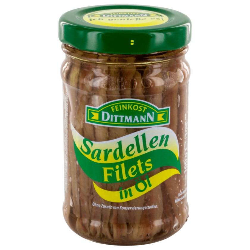 Dittman Sardellen-Filets in Öl 100g
