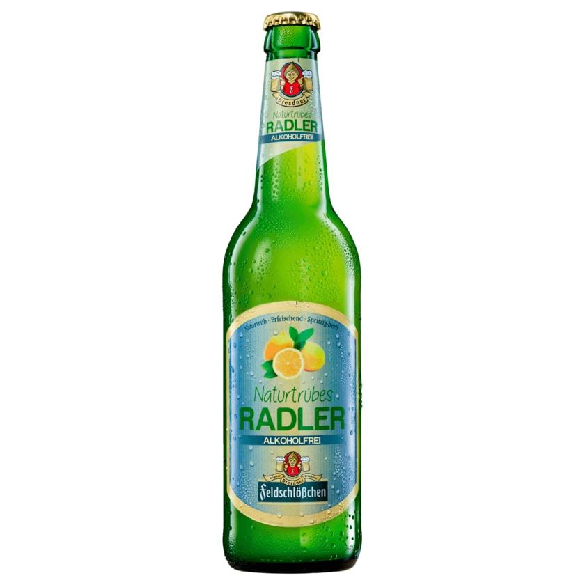 Feldschlösschen Radler Naturtrüb alkoholfrei 0,5l