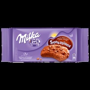 Milka Sensations Soft Cookies Choco 156g
