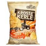 HeiMart Krosse Kerle Chips Karamell & Salz 115g
