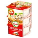 Popp Geflügelsalat Brotaufstrich Minis 3x40g