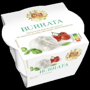 Rewe Feine Welt Burrata Mozzarella 100g Bei Rewe Online Bestellen