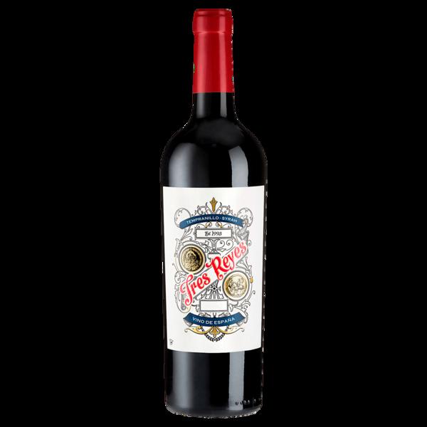 Tres Reyes Rotwein Tempranillo-Syrah trocken 0,75l