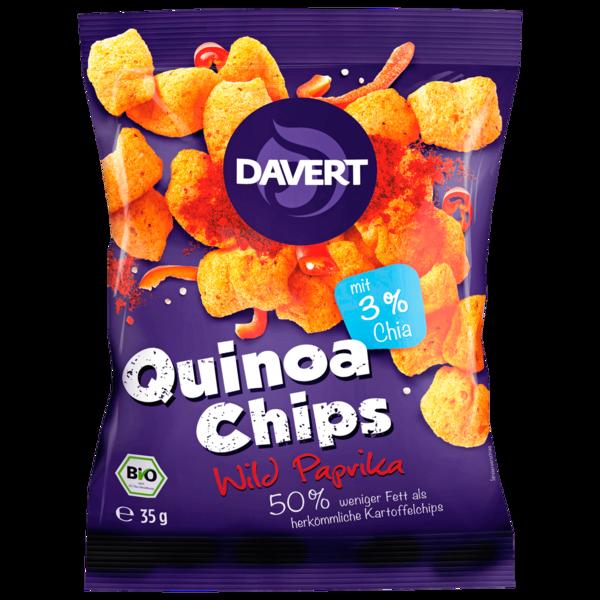 Davert Quinoa-Chips Wild Paprika 35g
