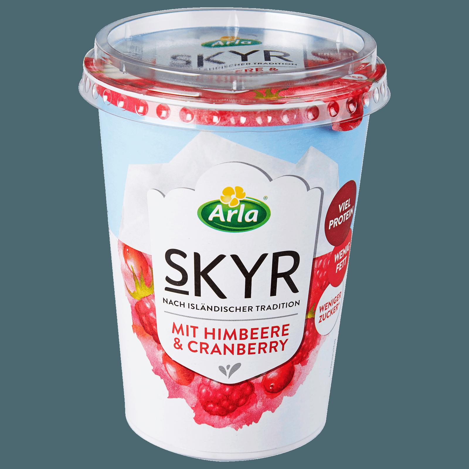 Arla Skyr Himbeere-Cranberry 450g