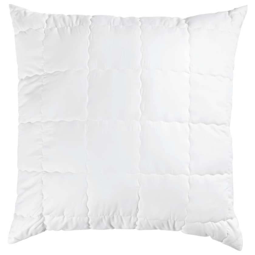 Schlaf-Gut Wash Cotton Kopfkissen 80x80cm