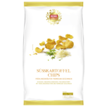 REWE Feine Welt Süßkartoffelchips mit Parmesan 125g