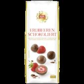 REWE Feine Welt Schoko Früchte Erdbeer 100g