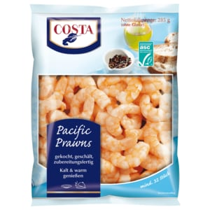 Costa Pacific Prawns 285g