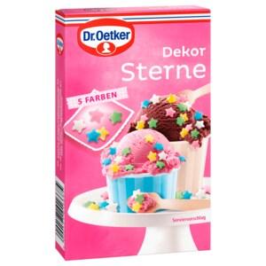Dr. Oetker Dekorsterne in 5 Farben 60g