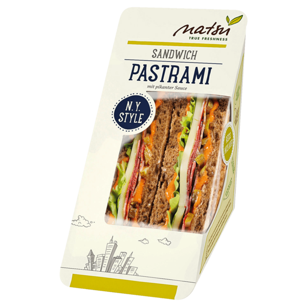 Natsu Pastrami Sandwich 170g
