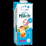 Sternenfair H-Milch 1,8 % Fett 1l