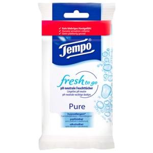 Tempo Fresh to Go Pure 10 Stück
