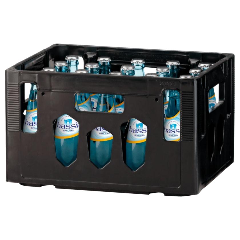 Hassia Mineralwasser Sprudel 20x0,25l