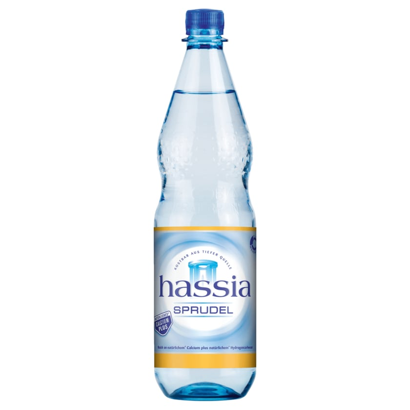 Hassia Mineralwasser Sprudel 1l