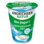 Andechser Natur Bio Joghurt Griechischer Art 400g