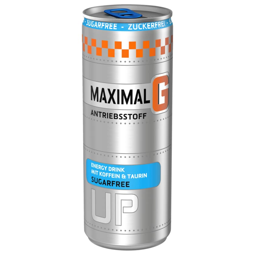Maximal G Energy Drink Sugarfree 0,25l