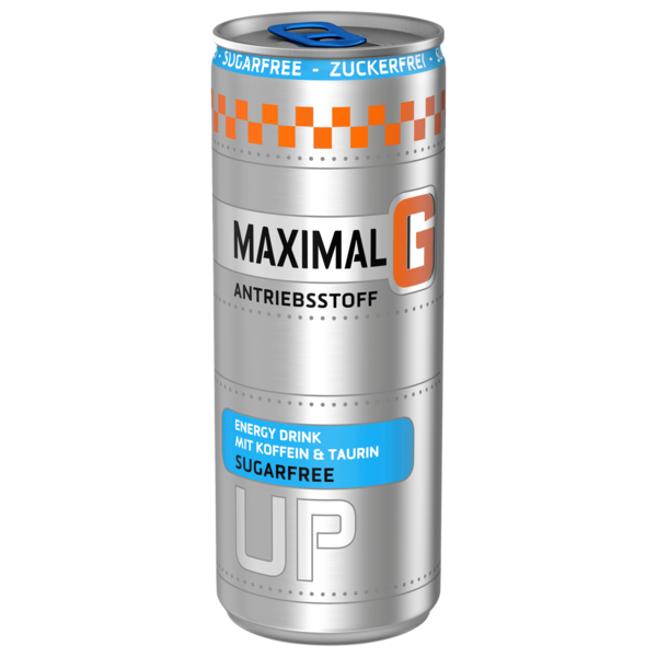 Maximal G Energy Drink Sugarfree 0,25l