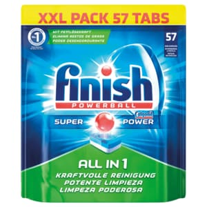 Finish Calgonit All in 1 Spülmaschinentabs XXL Pack 57 Tabs