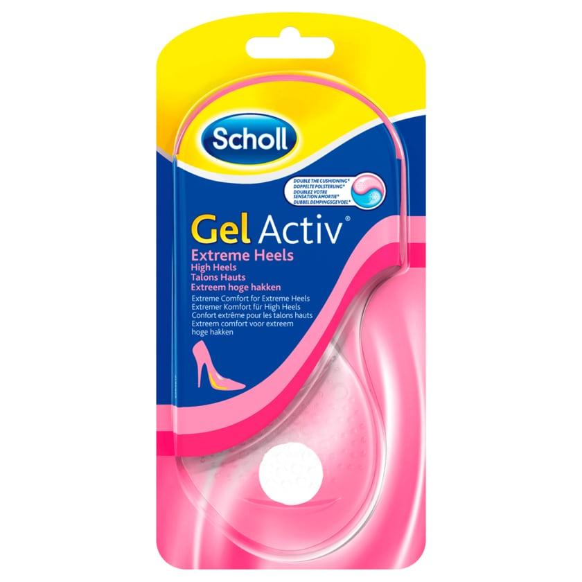 Scholl GelActiv Extreme Heels Einlegesohlen 2 st