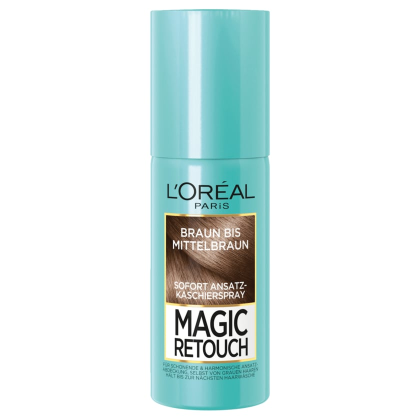 L'Oréal Paris Magic Retouch Ansatz-Kaschierspray braun bis mittelbraun 75ml