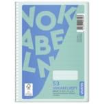 Vivess Vokabelheft DIN A5 liniert 53 72 Blatt