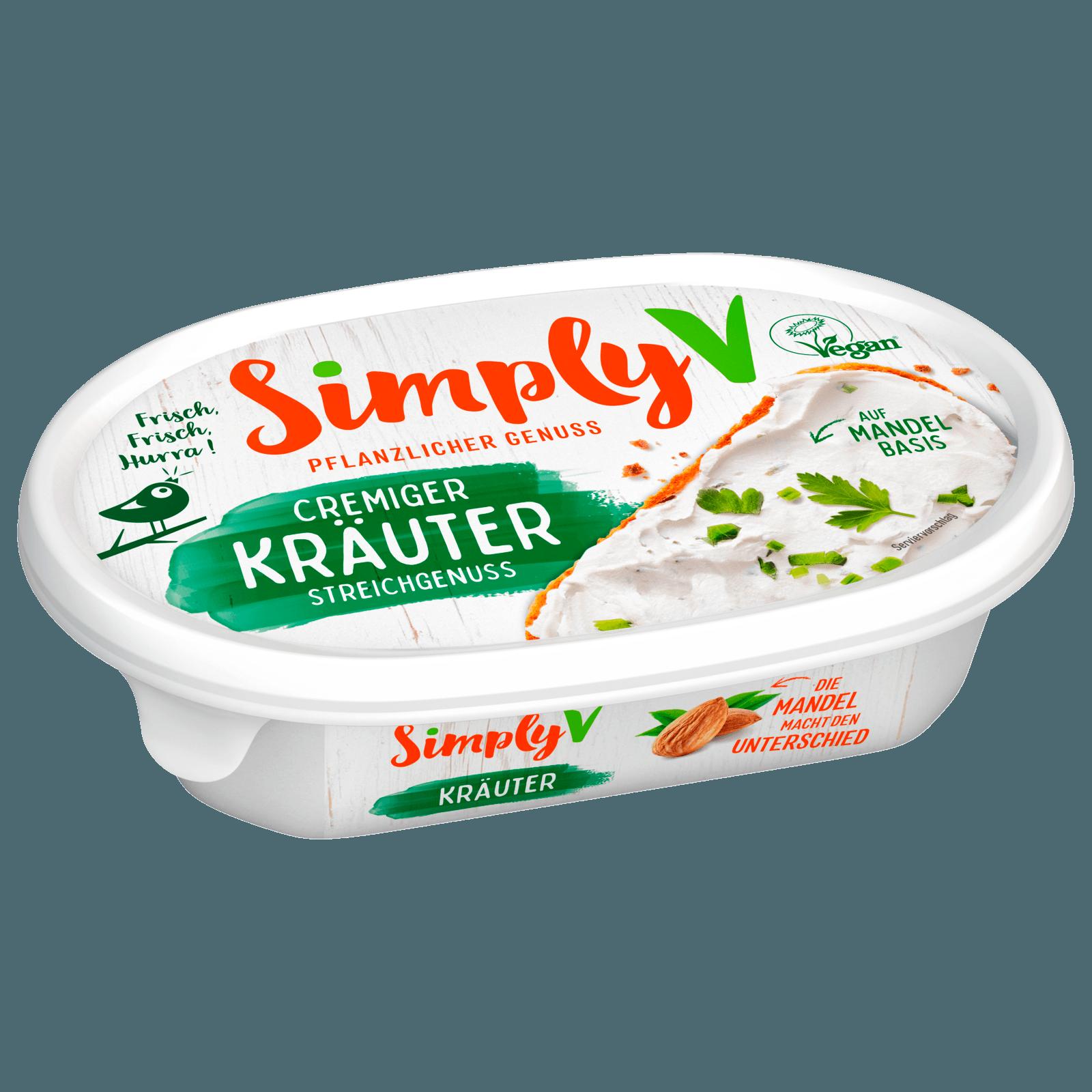 Simply V Streichgenuss Kräuter 150g