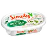 Simply V Käsealternative Streichgenuss Kräuter vegan 150g