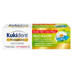 Kukident Haftcreme Med+Kamille 40g