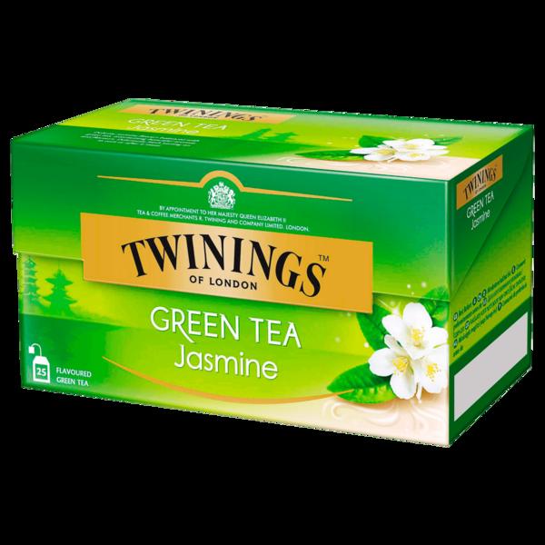 Twinings Jasmine Green Tea 45g, 25 Stück