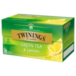 Twinings Green Tea & Lemon 40g, 25 Stück