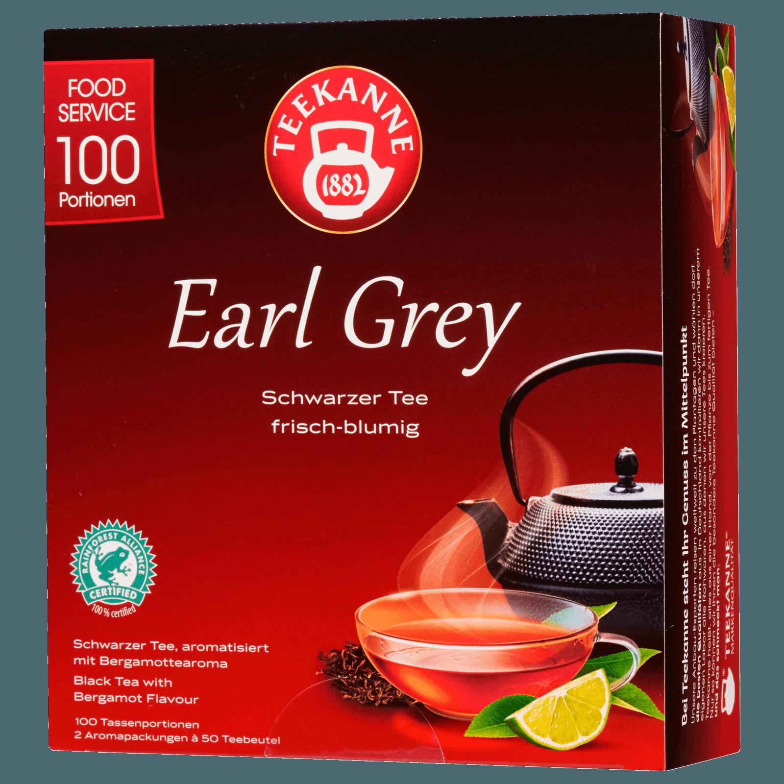 Teekanne Earl Grey 175g, 100 Beutel