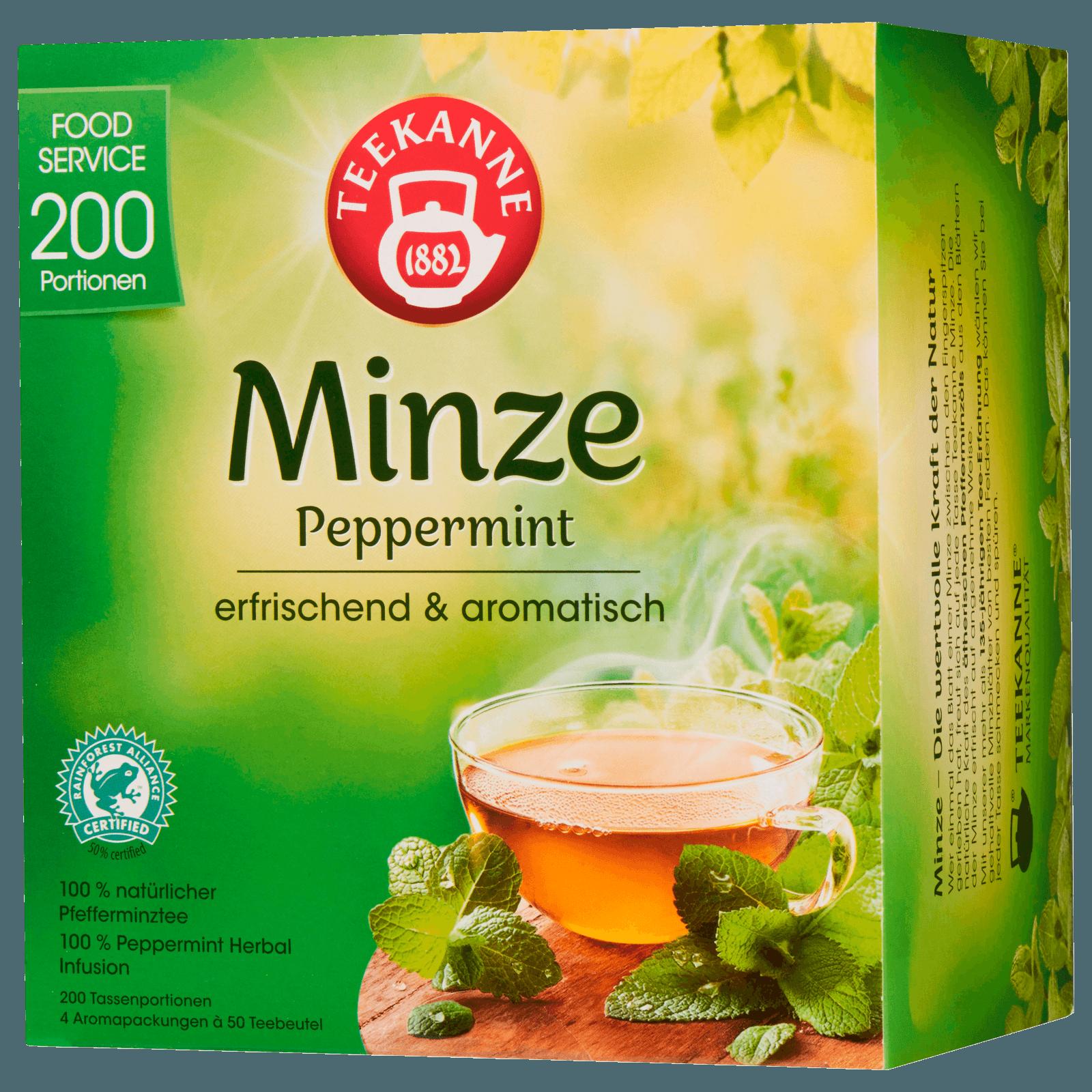 Teekanne Pfefferminze 250g, 200 Beutel