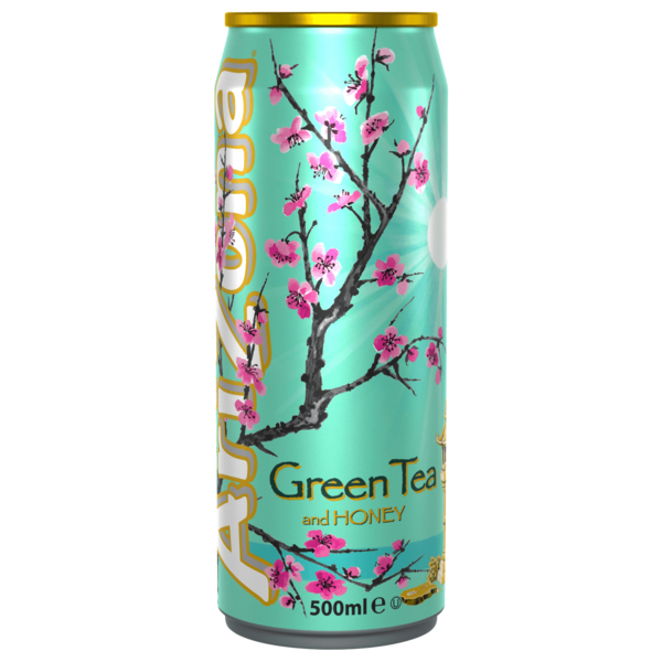 Arizona Green Tea and Honey 0,5l