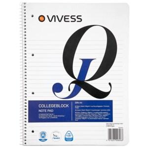 Vivess A4 Collegeblock liniert 1 Stück