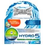 Wilkinson Sword Hydro Groomer & Power Select Klingen 4 Stück