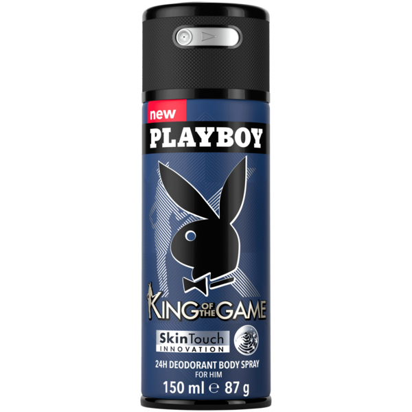 Playboy Deo Body Spray King of the Game 150ml