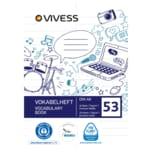 Vivess Vokabelheft A6 Lin 32 B