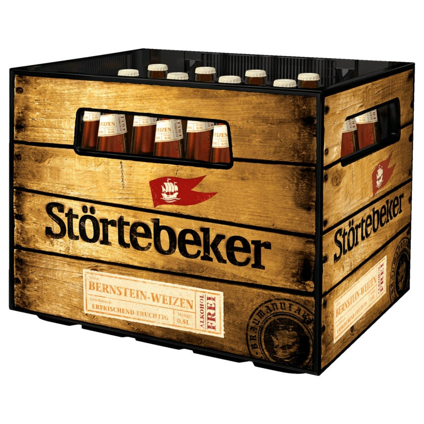 Störtebeker Bio Weizen alkoholfrei 20x0,5l