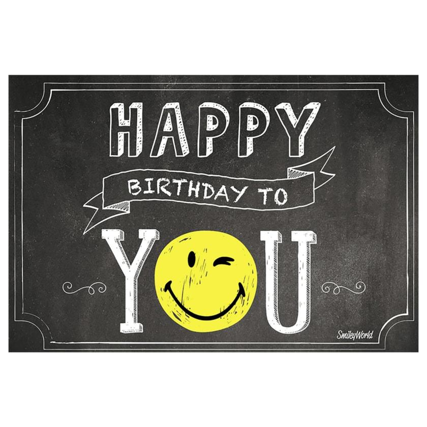 Vivess Geburtstagskarte Smile