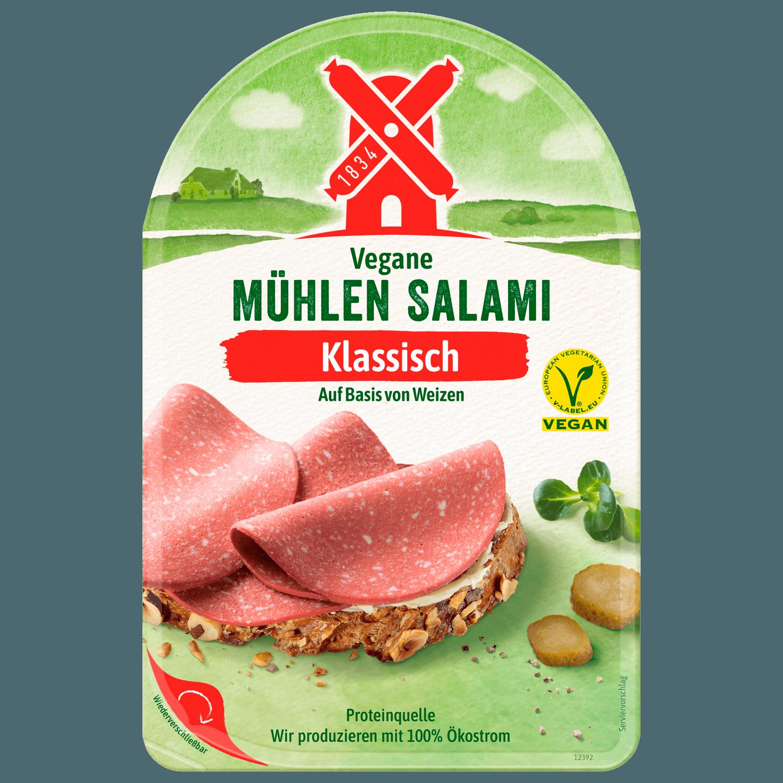 Rügenwalder Mühle Vegetarische Mühlen Salami 80g