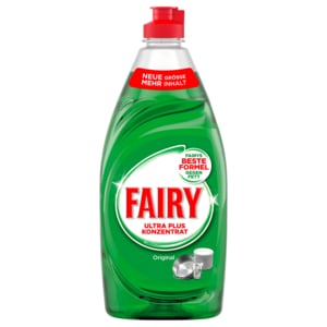 Fairy Ultra Plus Konzentrat Original Spülmittel 500 ml