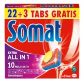 Somat 10 All-in-1 475g, 25 Tabs