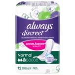 Always Discreet Inkontinenz Einlagen Normal 12 Stück