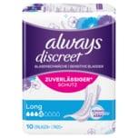 Always Discreet Inkontinenz Einlagen Long 10 Stück