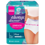 Always Discreet Inkontinenz Pants Large 8 Stück